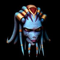 Alien - Female head - WIP 2 by Cless-Aurion