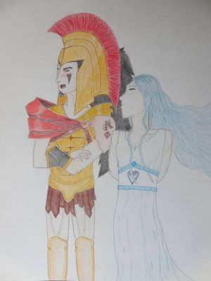 ShadeofShinon's contest : Ares and Aphrodite