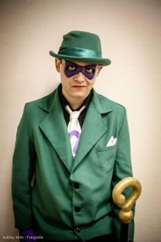 The Riddler- Animated Series I by ArlindoAlves