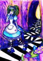 Alice in Wonderland by GothiLalita
