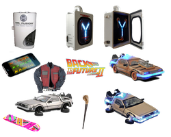 Back To The Future png Icons by 1darthvader