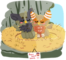 Home Sweet Home :Lineless: by AppleDew