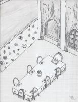 OPSA: Mushroom Kingdom: Peach's Castle Dining Room by specter24