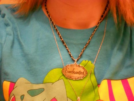 Taylor Swift Inspired Necklace by StealthyKunoichiAly