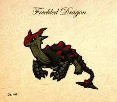 Bestiary: Freckled Dragon by EvilJoel