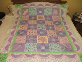 mom's gift at quilting by Naatta