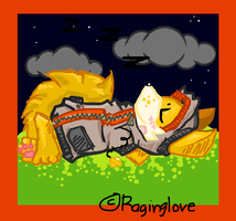PokeCoast:Sleeping Apricot^^ by RagingLove