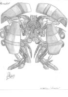 Transformers Decepticons: Mixmaster by KKriptor