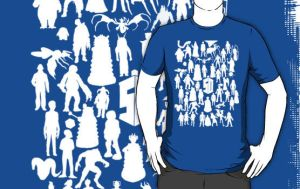 Doctor who 50 years of 50 enemies by Mr-Saxon