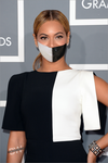 Beyonce and the black and white gagtape by hedx