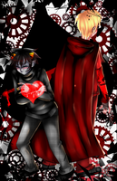 .:Homestuck:. DavKat Black or Red Romance ? by N-Lilix