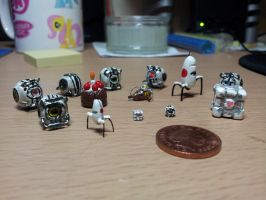 Portal Miniatures so Far! by CJEgglishaw