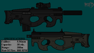SD-P90 PDW by hughesdm