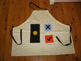 Apron specifically for cake! by xXSpiritKeeperXx