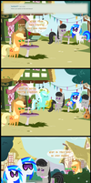 Ask Honest Applejack 41 by bronybyexception