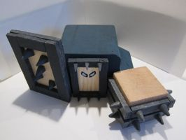 LoL - Blue melee minion woodwork by zorberema