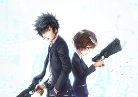 PSYCHO-PASS by raidenvt
