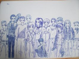 Me and all my friends by MadCookie333
