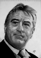 Robert De Niro by th3blackhalo