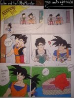 Goten and the Potty Monster by BobsCookie
