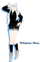 Whiteria Rose v4 [MMD] by Deiroko