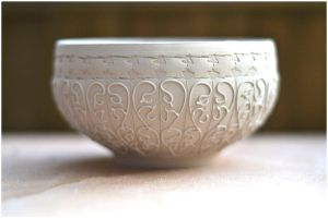 Chawan Ash WIP by ClaireBriant