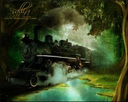And The Train Goes By by Sallinillas