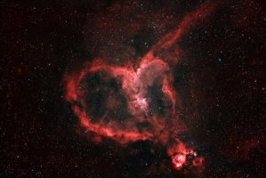 Heart Nebula by Kyprulez