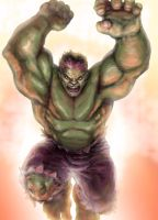 Hulk paint by KJVallentin