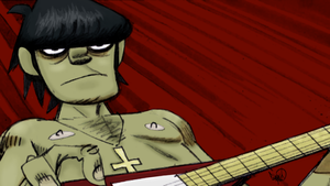 Murdoc - Feel Good Inc. Storyboard (Colored) by FaBrIzIoTheKick-Ass