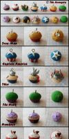 The Avengers Cupcakes by cheese-cake-panda