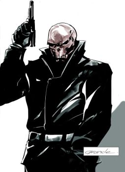 Red Skull by johnnymorbius