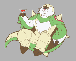 Chesnaught by alpacapala