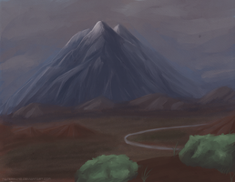 Lonely Mountain by NaterRang