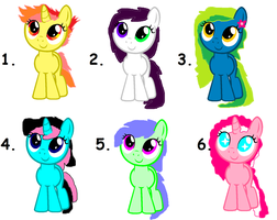 MLP FIM:Adoptable .CLOSED! by cottoncloudyfilly