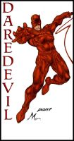 DAREDEVIL BY PANT color by Mich974