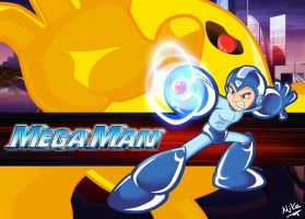 Megaman and yellow devil by adile