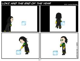 Loki and the end of the year part 1 by dragaodepapel