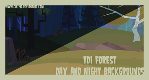 TDI Forest Day and Night BGs by CjLowery