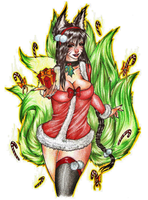 CHRISTMAS AHRI by ivixus