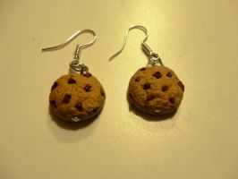 Cookies earrings *-* by Yuki1Kurumi1Elric