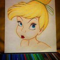 Tinkerbell portrait - WIP by lulemee