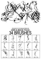 FAUXISM.org - Brushset 025 by fauxism-org