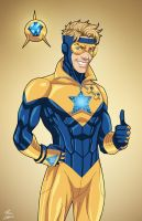 Booster Gold (Earth-27) commission by phil-cho