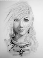 Lightning - Final Fantasy Xlll by bianqui-creates