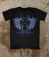 Oblivion Tribal Lions T-Shirt Mock Up Sample by Oblivion-design