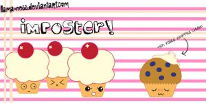 Imposter Muffin by llama-ness