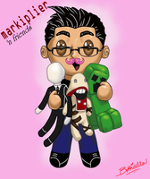Markiplier 'n Friends by Botticella89