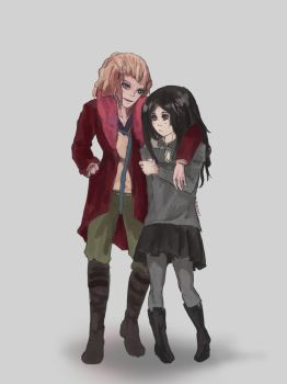 Shilo and Graverobber by Plaguey