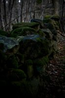 Green stones by Sundseth